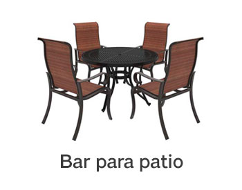 Bar para patio